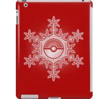 Pokeball Snowflake iPad Case/Skin