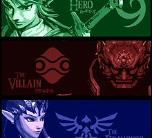 The Hero, the Villain and the Princess by Tsume