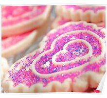 Heart Sugar Cookies Poster