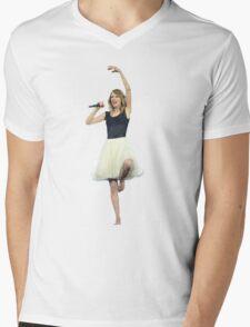 Ballet Dance Taylor Swift Mens V-Neck T-Shirt