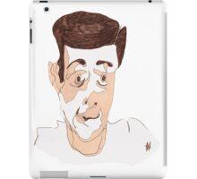 Googly-Eyed Man #2 iPad Case/Skin
