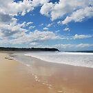 Hallidays Point at the beach by Catherine Davis
