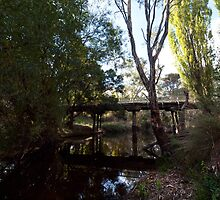 The Old Tarilta Rd Bridge by John Sharp