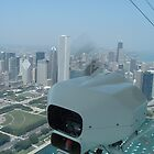 Chicago from Blimp by Bdonahy