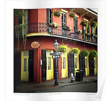 """Distinctively New Orleans"" Poster"