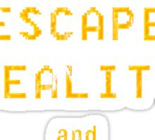 Escape Reality Play Games Sticker