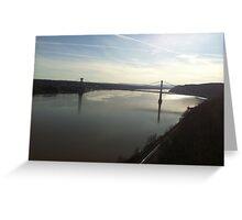 Hudson River Valley Greeting Card