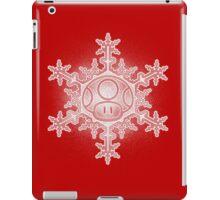 Mushroom Snowflake iPad Case/Skin