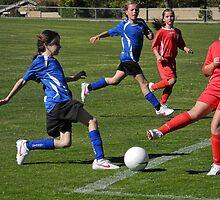 Girls Soccer by observer11