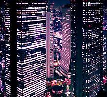 Shinjuku at Night by Thiranja, Prasad Babarenda Gamage