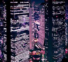 Shinjuku at Night by Thiranja, Prasad Babarenda Gamage