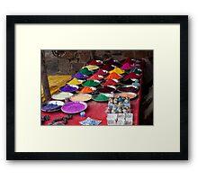 Holi Colors Framed Print