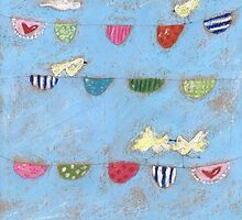 Happy Bunting by Tine  Wiggens