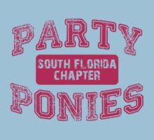 Party Ponies - Pink Kids Clothes