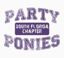 Party Ponies - Purple by katemonsoon