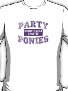 Party Ponies - Purple T-Shirt