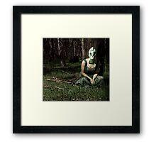 The Monster Garden Framed Print