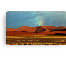 Rainbow over the Dunes Canvas Print
