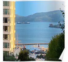San Francisco - Ships on the Bay Poster