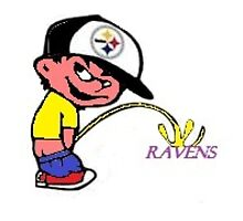 steelers fan peeing on ravens by Sparks101