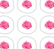 Pretty Pink Rose Sticker