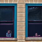 Watching The World Go By by Kris Montgomery