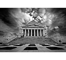 The Shrine of Rememberance Photographic Print
