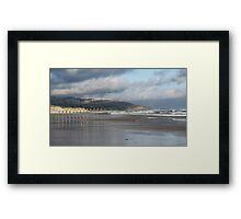 St Clair Beach, Dunedin, South Island, NZ 2 Framed Print