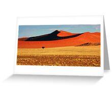 Desert Dunes Greeting Card