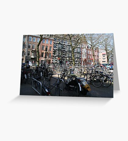 Bicycles of Amsterdam Greeting Card