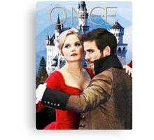 Captain Swan Fairy Tale Watercolor Design 1 Canvas Print
