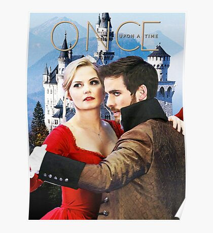 Captain Swan Fairy Tale Watercolor Design 1 Poster