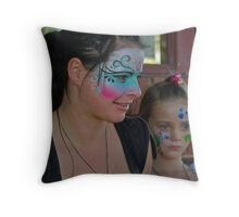 Courtney Young, Aireys Inlet artist Throw Pillow