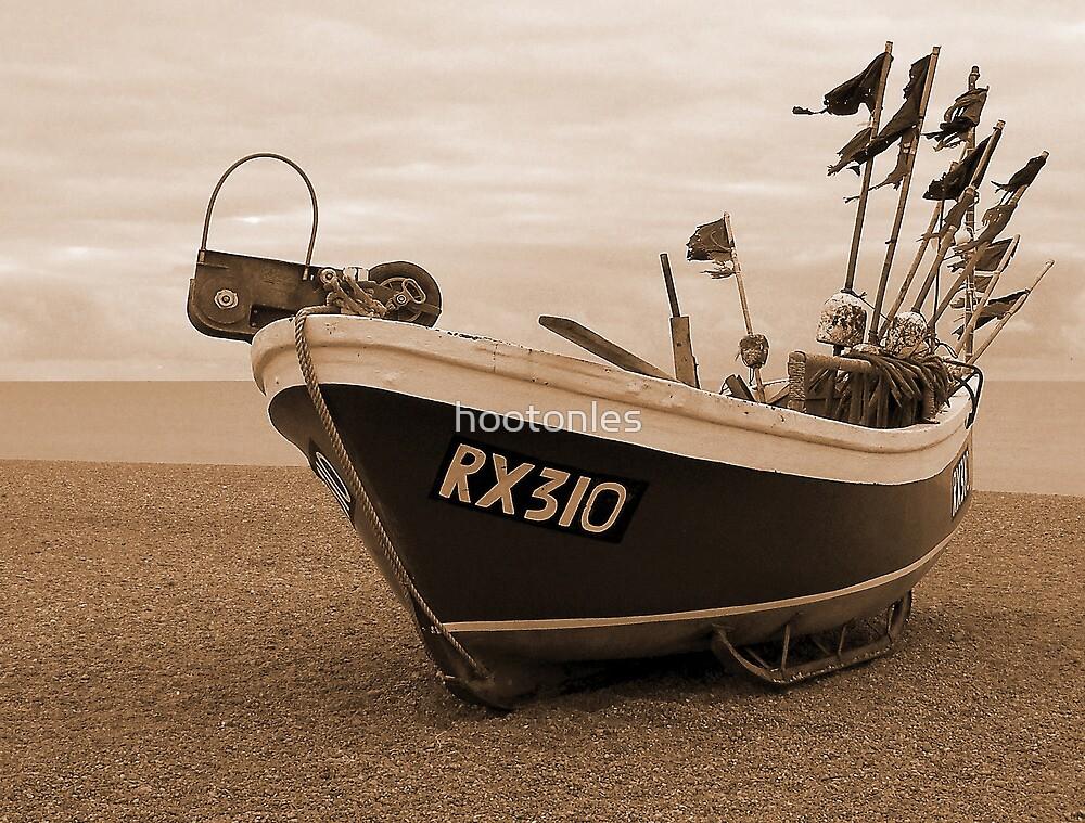 Hastings Fishing Boat by hootonles