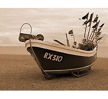 Hastings Fishing Boat Photographic Print