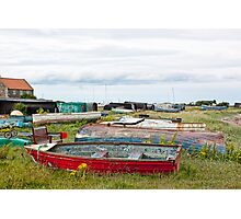 Boats A Plenty Photographic Print