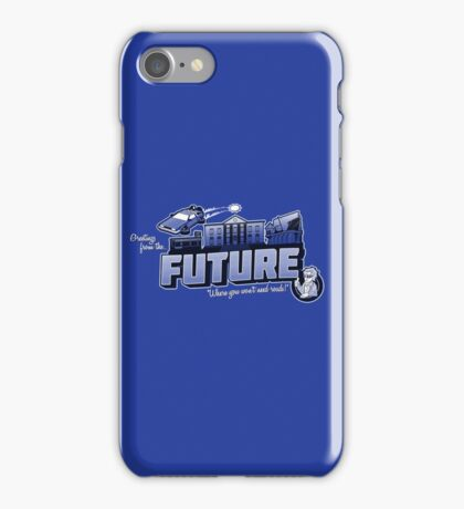 Greetings from the Future! iPhone Case/Skin