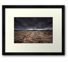 Storm Field Framed Print