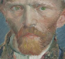 Vincent Van Gogh - Self-portrait Sticker