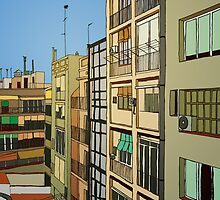 Barcelona inside by Honeyboy Martin