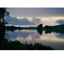 Dusk on the river - Clarence Valley - NSW Photographic Print