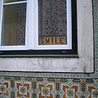 Smile (Window in Lisbon) by ChrisCiolli