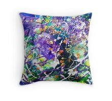 Abstract Butterfly I Throw Pillow