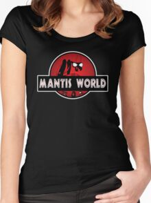 Mantis World Women's Fitted Scoop T-Shirt