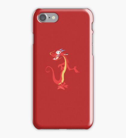 He's not a lizard. iPhone Case/Skin