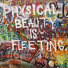 Physical Beauty is Fleeting (Lennon Wall, Prague) by ChrisCiolli