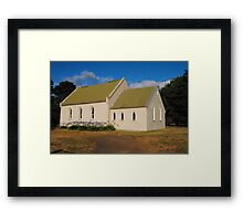 Uniting Church - Doreen, Victoria Framed Print