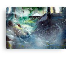 Dream House 2 Canvas Print