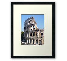 The Colliseum Framed Print