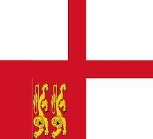 Sark Flag by ToucanFace